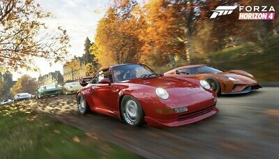 Forza Horizon 4 God Save Type 4 Modded Account (SELLERS ACCOUNT)