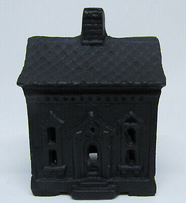 Small Vintage Style Cast Iron SMALL Small House Bank