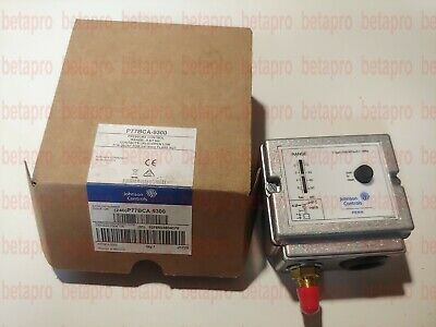 Pressostat basse pression manuel -0.5 à 7 bar P77BCA-9300 1/4 Johnson Controls