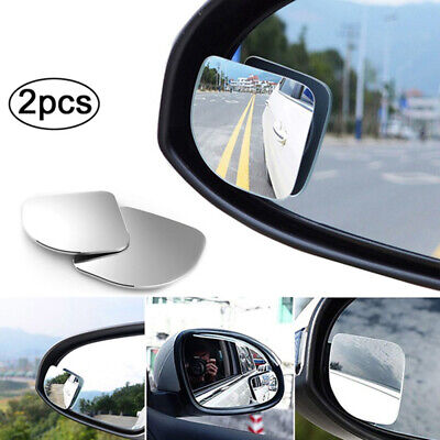 Auto Car Adjustable Side Rearview Blind Spot Rear View Auxiliary Mirror 2Pcs