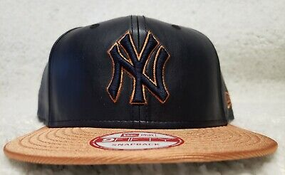 f855f626 Brand New New Era 9Fifty MLB New York Yankees Copper Leather Snapback Hat  Cap