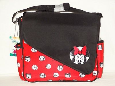 Disney Minnie Mouse Mickey Daisy Donald Pluto Baby Girl Shoulder Tote Diaper Bag