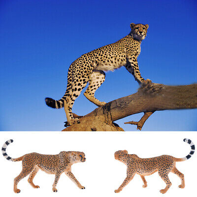 Realistic Animal Model Figurine Figures Kids Educational Toy Gift - Cheetah
