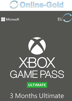 Xbox Game Pass Ultimate - 3 Meses Microsoft código Digital Xbox One xbox 360 ES
