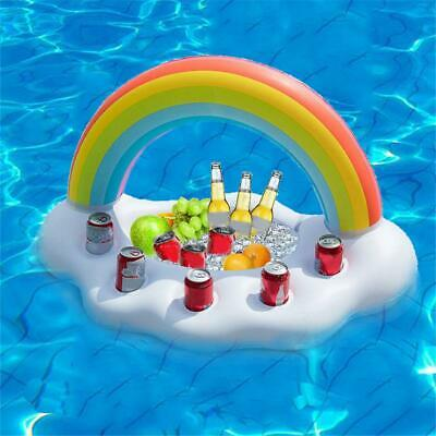 Summer Inflatable Water Ice Bucket Inflatable Float Pool Swim Ring Holiday Water
