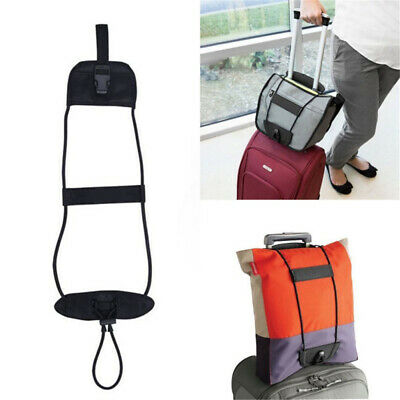 Backpack Carrier Strap Bungee Belt Bag Luggage Carry On Suitcase Adjustable Hot