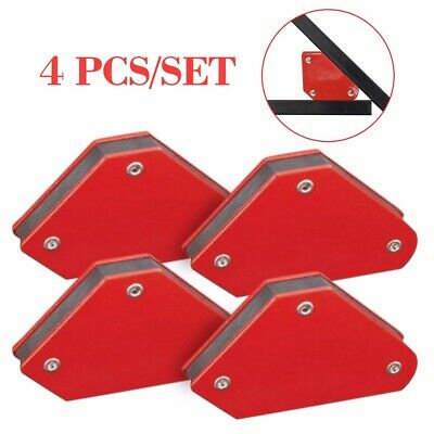 4PCS Welding Magnetic Square Welder Holder Arrow Clamp 45° 90° 135° 9Lb 2019