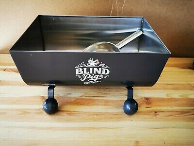 Blind Pig (Pig Trough) Metal Robust Ice Bucket New and Boxed with Scoop