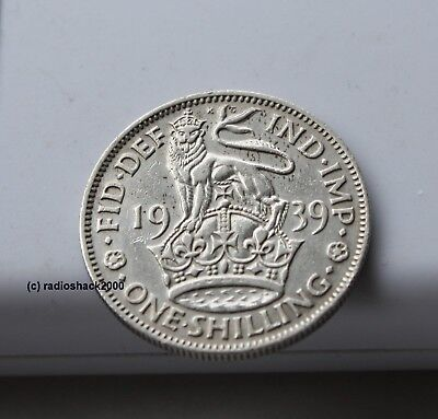 KING GEORGE VI 1S British One Shilling Coins Dated 1947-1950 #554