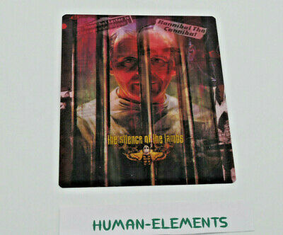 THE SILENCE OF THE LAMBS - Lenticular 3D Flip Magnet Cover FOR bluray steelbook