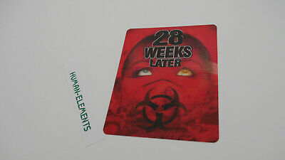 28 WEEKS LATER - Lenticular 3D Flip Magnet Cover FOR bluray steelbook