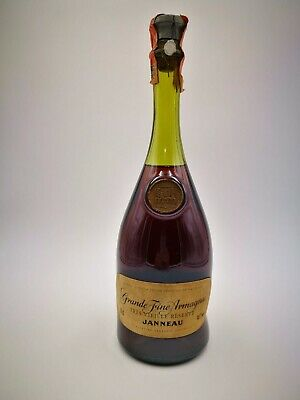 Grande Fine Armagnac Janneau Tres Vieille Reserve Very Old Bottle 70 Cl 40 %