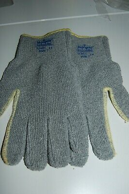6 Pairs MARIGOLD INDUSTRIAL Cotton Terry TL28CC Special purpose gloves Size 7 G1