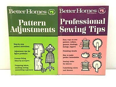 Vintage 1966 Better Homes and Gardens Creative Sewing Library Books Lot of 2