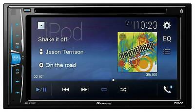 Pioneer AVH-A200BT Doppel-DIN CD/DVD/MP3-Autoradio Touchscreen Bluetooth USB iPo