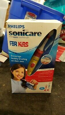 PHILIPS Sonicare for Kids HX6311/02 Electric Rechargeable Sonic Toothbrush NIB
