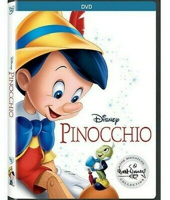 Pinocchio (DVD, 2017 Signature Collection) Sealed w/ Slipcover FREE Shipping!