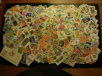 Used Lot Of 1000 Stamps Around The World,  Nice $$$  #M 32
