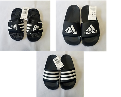 Kids' Clothing, Shoes & Accs Adidas Duramo Kids Slides Boys or Girls Size 11-6 Sandals Black White Or Pink
