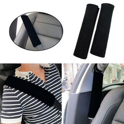 2X Universal Car Safety Seat Belt Pads Harness Shoulder Strap Soft Cushion Cover
