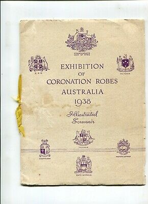 Souvenir Coronation Robes Exhibition Australia 1938