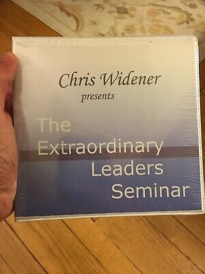 The Extraordinary Leaders Seminar by Chris Widener - 13 CD Set Brand New Sealed