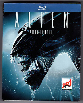 Alien Anthologie Blu-Ray Steelbook Neu & Ovp Sealed Quadrilogy Deutscher Ton Oop