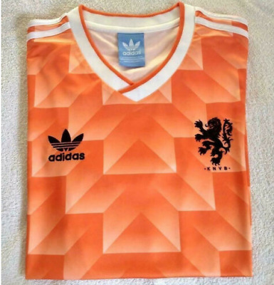 1988 Netherland Home Retro Football Soccer Shirt Jersey Vintage Holland SALE AA