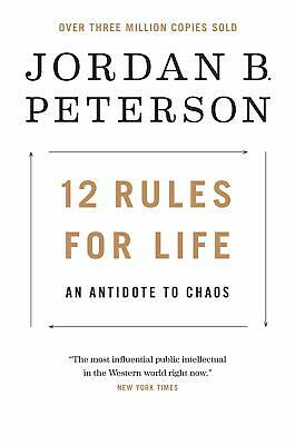 12 Rules for Life An Antidote to Chaos by Jordan B Peterson Hardcover TOP SELLER