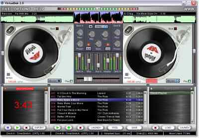 VirtualDek Pro DJ Software, Win7,Win8 & Win10, Digital Product + Serial Key Code