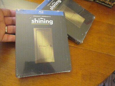 THE SHINING BLU RAY STANLEY KUBRICK'S HORROR SteelBook US Edition 2018 NEW