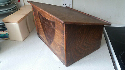 Vintage Wooden Church / Masonic Table Top Lectern - 16 X12 X 10 Inch