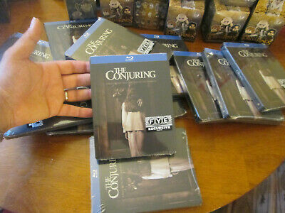 THE CONJURING BLU RAY Steelbook Edition MOVIE HORROR FYE SOLD OUT LIMITED