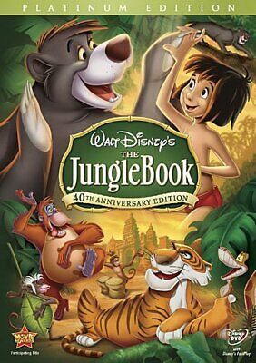 The Jungle Book (DVD, 2007, 2-Disc Set, 40th Anniversary Edition) FREE Shipping!