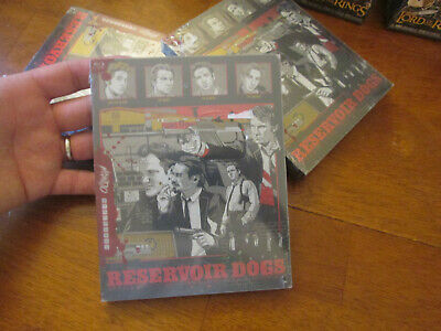 RESERVOIR DOGS BLU RAY MONDO Steelbook Limited Edition NEW FACTORY SEALED