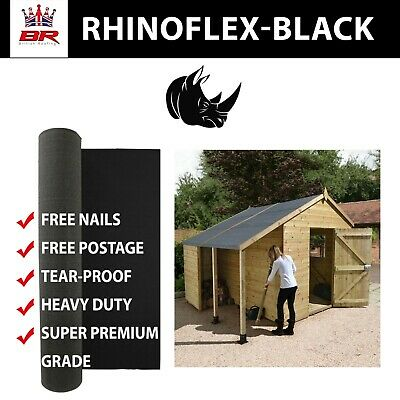 Super Premium   Garden Shed Felt  10m  Heavy duty   Reinforced   Up to 25 years