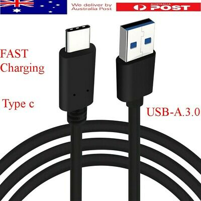 Samsung Galaxy S9 / S8 Plus Type C USB Sync Charger Charging Fast Cable AU
