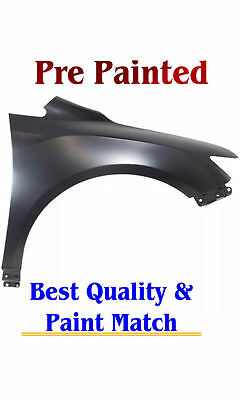 New PRE PAINTED Passenger RH Fender for 2009-2016 Toyota Venza w Free Touch Up
