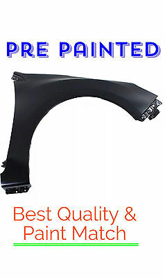 New PRE PAINTED Passenger RH Fender for 2012-2016 Subaru Impreza 2.0L w Touch Up