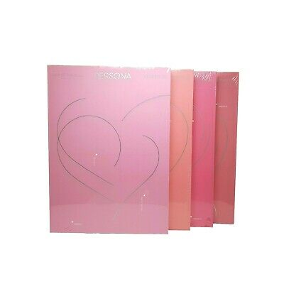 BTS MAP OF THE SOUL PERSONA Album CD 2019 version1234 PhotoBook, Card, Post card