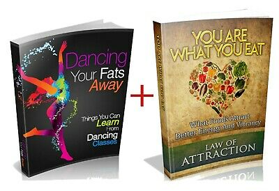 Dancing Your Fats Away and You Are What You Eat PDF ebooks with MRR eBooks