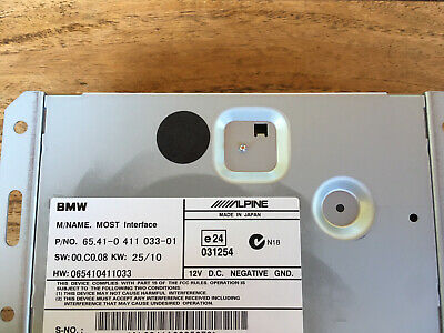Original BMW Ipod Interface Most 0411033 E87 E90 E60 E84 E70 Kabelsatz Kabel