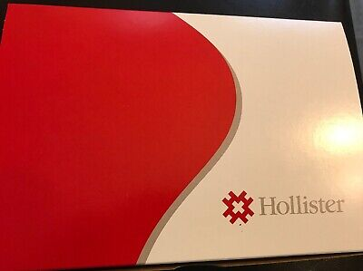 "Hollister 18104 Box Of 10 Ostomy Drainable 2.75"" Colostomy Bags New"