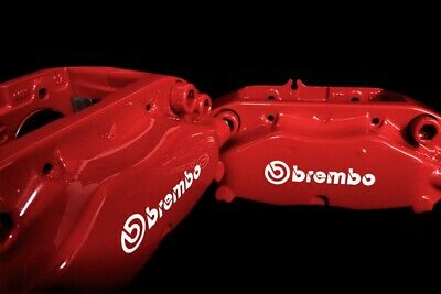 x4 Brembo Brake Caliper Sticker/Decals
