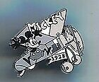 Disney 100 Years of Dreams Plane Crazy Mickey and MInnie Mouse Pin New