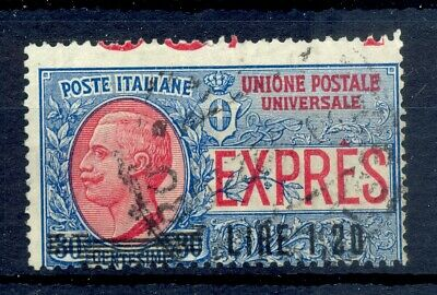 Italy Expres Lire 1,20 Ovp.. Variety Shifted Perf..