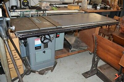 Vintage Delta Rockwell Unisaw w/Unifence Extended Table