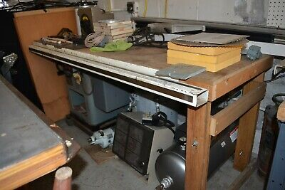 Vintage Delta Rockwell Unisaw w/Biesemeyer Extended Table