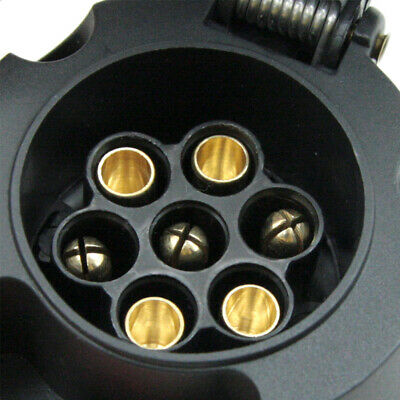 Trailer Plug 7 Pin Small Round Socket Connector Trailer Boat