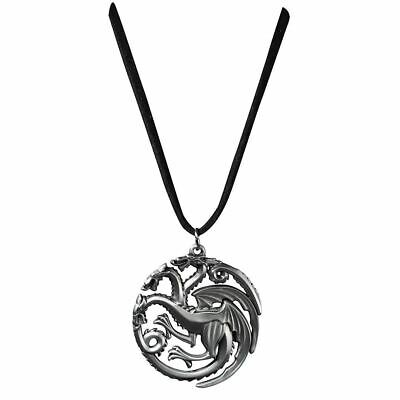 Game of Thrones Targaryen Sigil House Pendant Necklace - Noble Collection